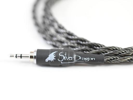 Silver Dragon Portable Headphone Cable