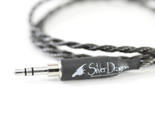 Silver Dragon Portable Headphone Cable