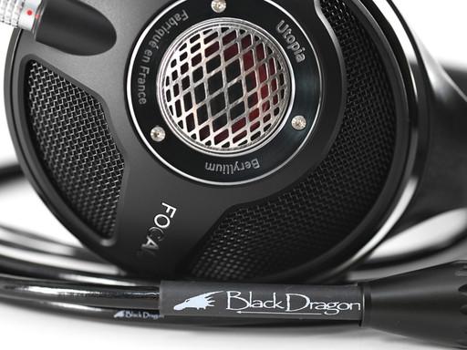 Focal Utopia headphones + Black Dragon premium headphone cable for Utopia