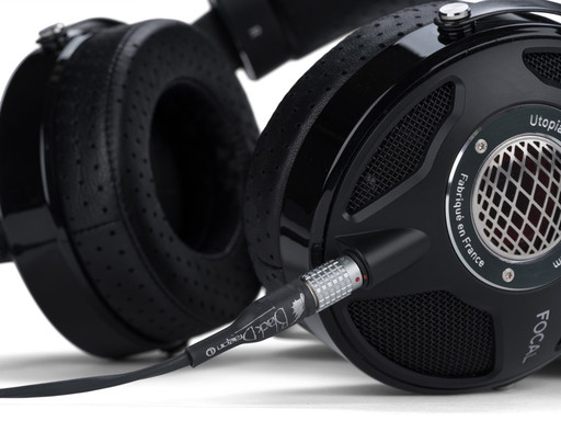 Black Dragon Premium Cable for Focal Utopia Headphones