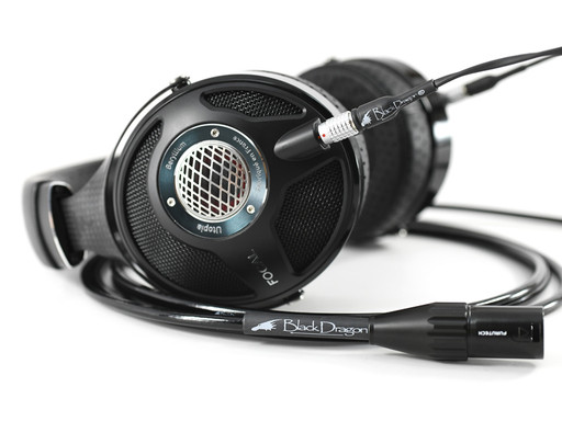 Black Dragon Premium Cable for Focal Utopia Headphones
