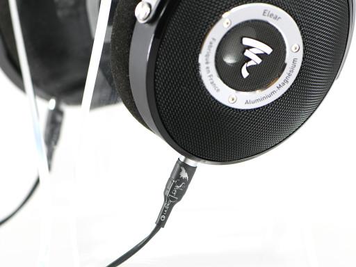 Silver Dragon Premium Cable for Focal Elear or Elegia Headphones