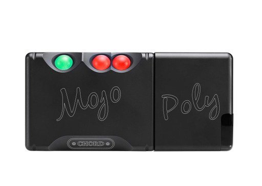 Chord Poly Wireless Streaming Module paired with the Chord Mojo