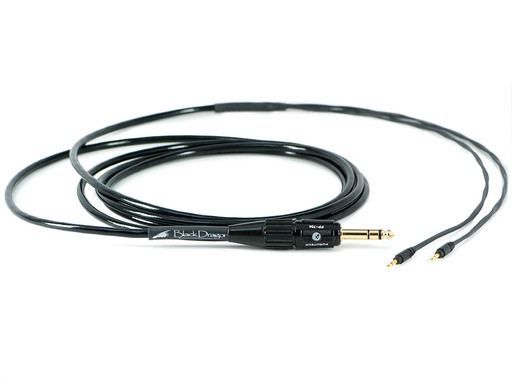 Black Dragon Cable for Audioquest Headphones V2