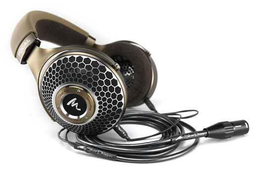 Focal Clear MG Headphones with Silver Dragon