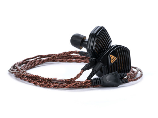 Bronze Dragon IEM Cable with Audeze LCDi4 Earphones