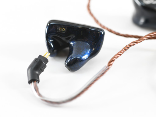 Bronze Dragon 2-pin IEM Cable with JH16 Detailed View