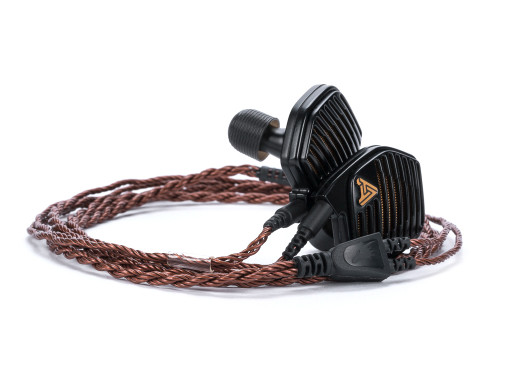 Bronze Dragon IEM Cable for Audeze Earphones