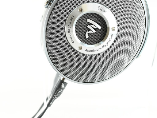 Black Dragon Premium Cable for Focal Clear Headphones close up