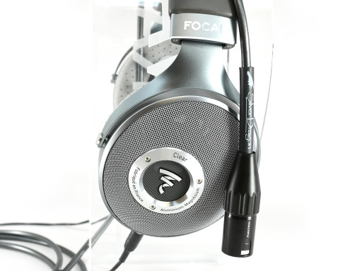 Focal Clear with Premium Silver Dragon Headphone cable