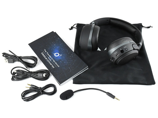 Audeze Mobius with included accessories