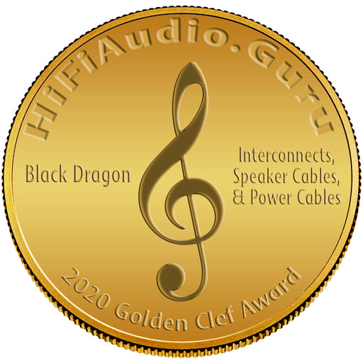 Black Dragon Cables Win 2020 Golden Clef Award