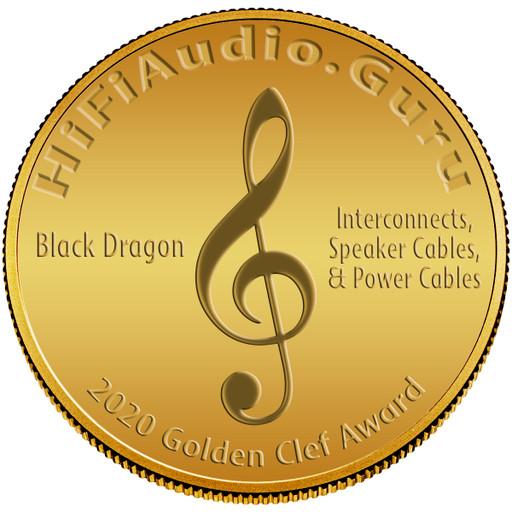 Black Dragon Cables - 2020 Golden Clef Award