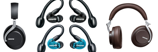 Shure Aonic 50 and Aonic 215 Headphones - Just Announced