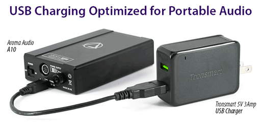 USB Charging Optimized for Portable Audio