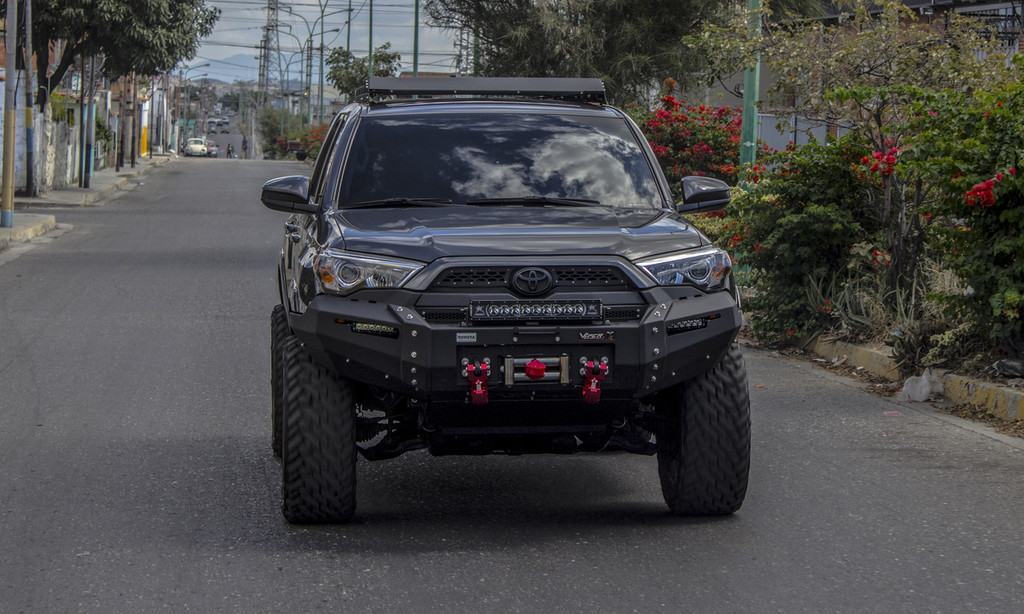 4RUNNER 2015 - CURRENT  ULTIMA FRONT BUMPER PD-155-SP6