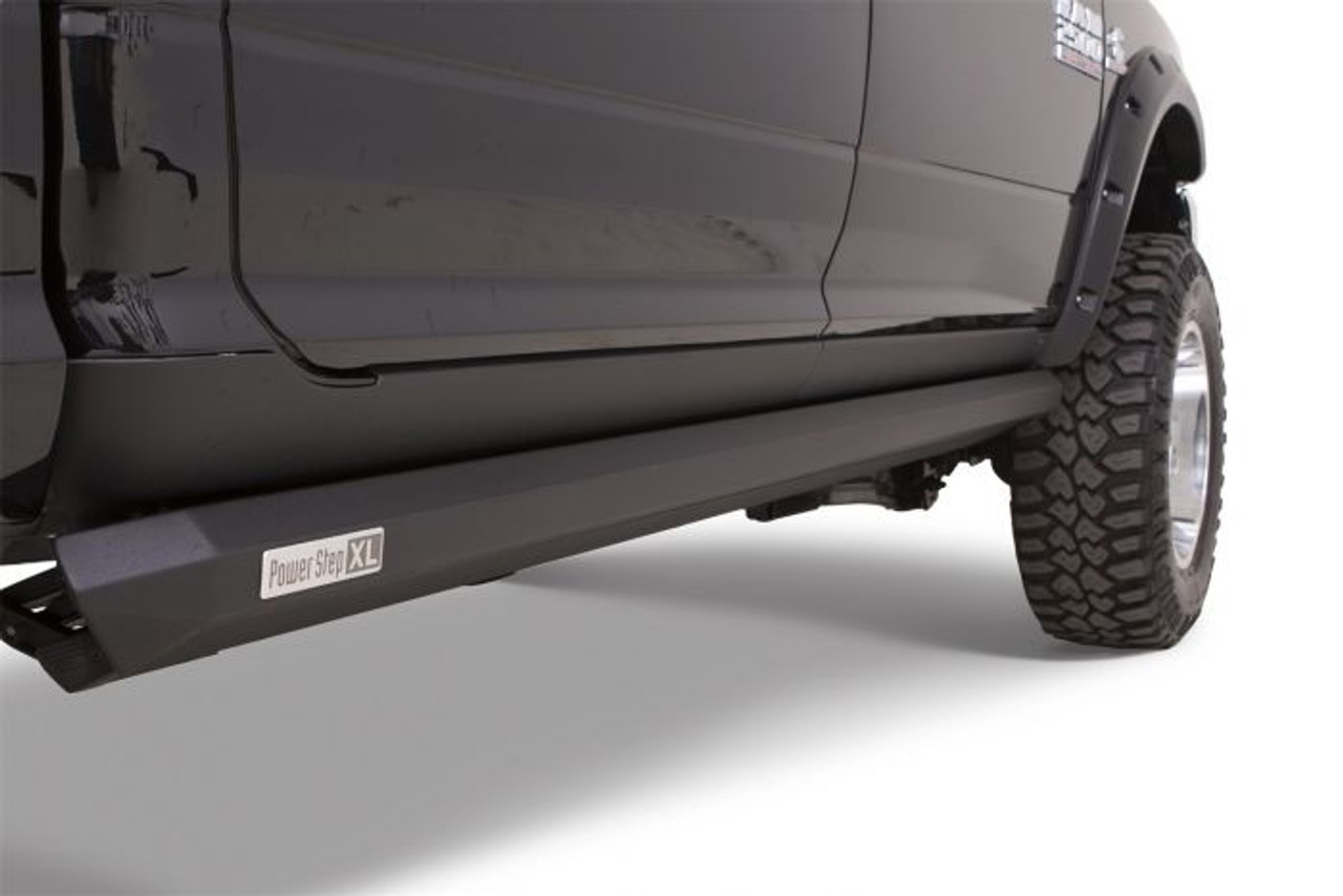 Electric Running Boards >> Amp Research 77238 01a Powerstep Xl Electric Running Boards Plug N Play System For 2018 Ram 2500 3500 With Crew Cab