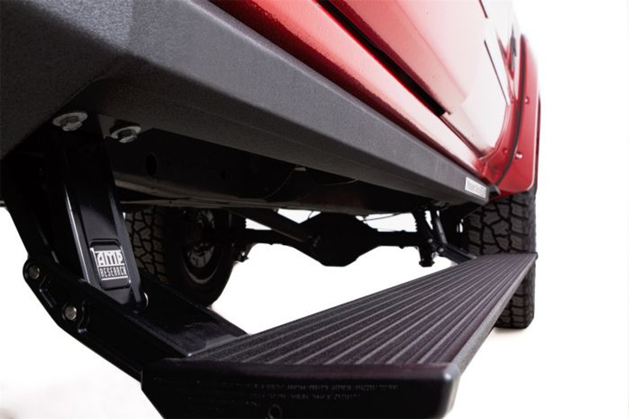 AMP RESEARCH 77248-01A POWERSTEP XL ELECTRIC RUNNING BOARDS PLUG N' PLAY SYSTEM FOR 2018 RAM 2500/3500 WITH MEGA CAB