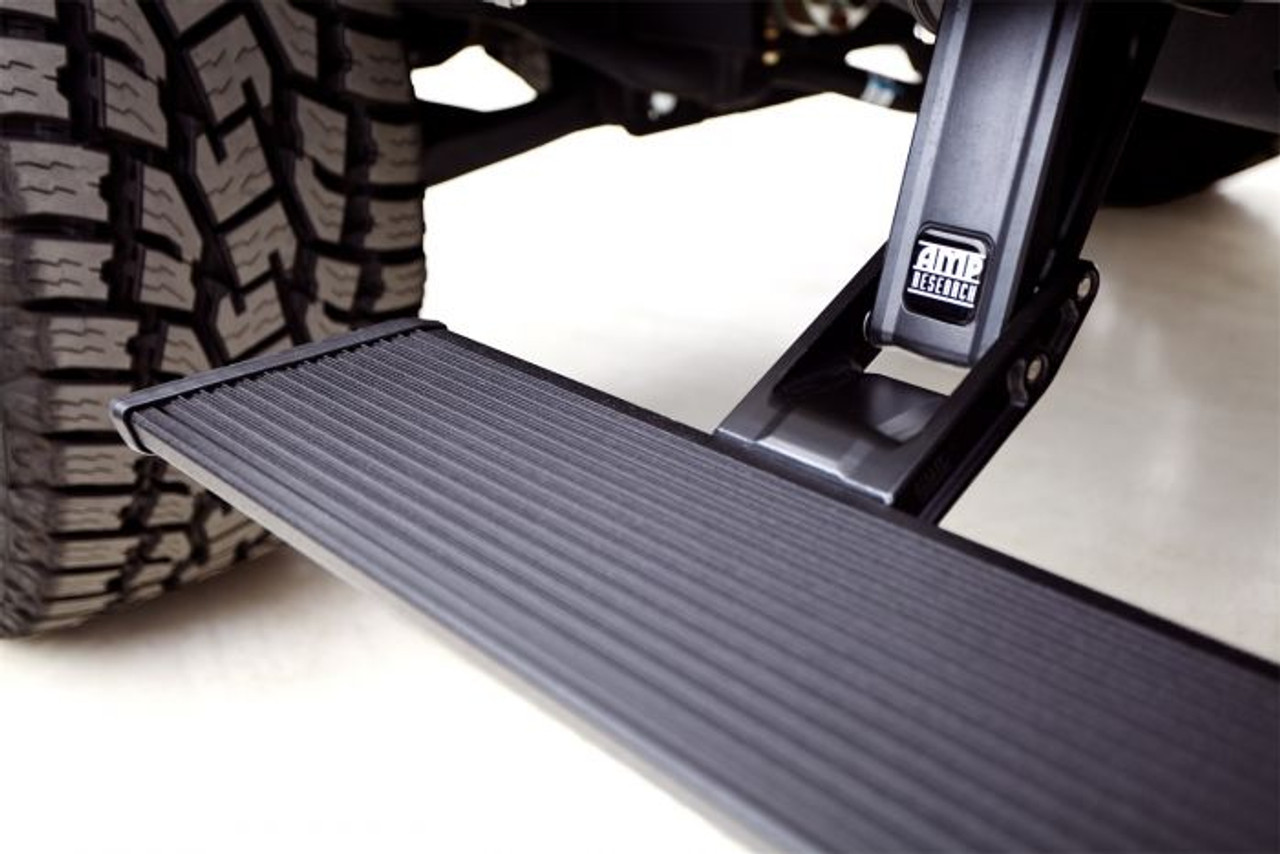 Electric Running Boards >> Amp Research 78240 01a Powerstep Xtreme Electric Running Boards Plug N Play System For 2019 Ram 1500 Crew Cab