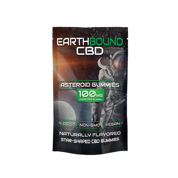 EarthBound CBD Asteroid Gummies 100MG