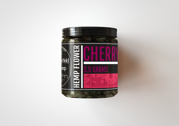 Chesterfield Hemp Co Cherry Wine 3.5 Grams 12.40% CBD