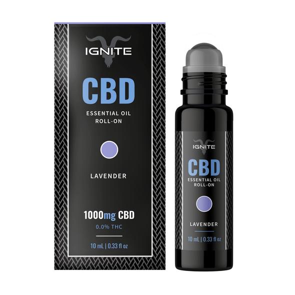 1000MG CBD Roll-On Oil - Calm / Lavender