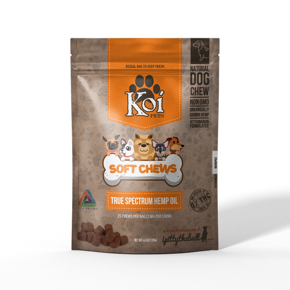 Koi CBD Pet Chews 25pcs 50mg