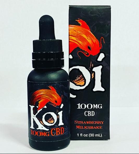 Koi CBD Vape oil Strawberry Milkshake 30ml 100mg