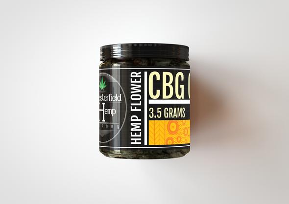 Chesterfield Hemp Co CBG Gold 3.5 Grams 15.92%