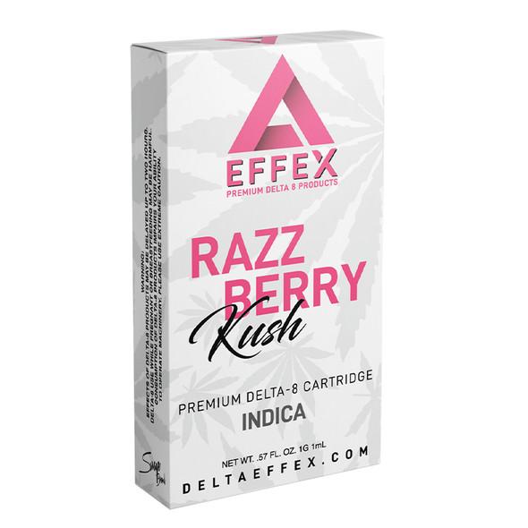 Raspberry Kush Delta 8 Cartridge - Delta Effex 1g