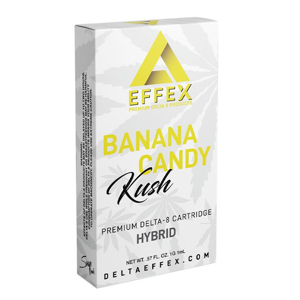 Banana Candy Delta 8 Cartridge - Delta Effex 1g