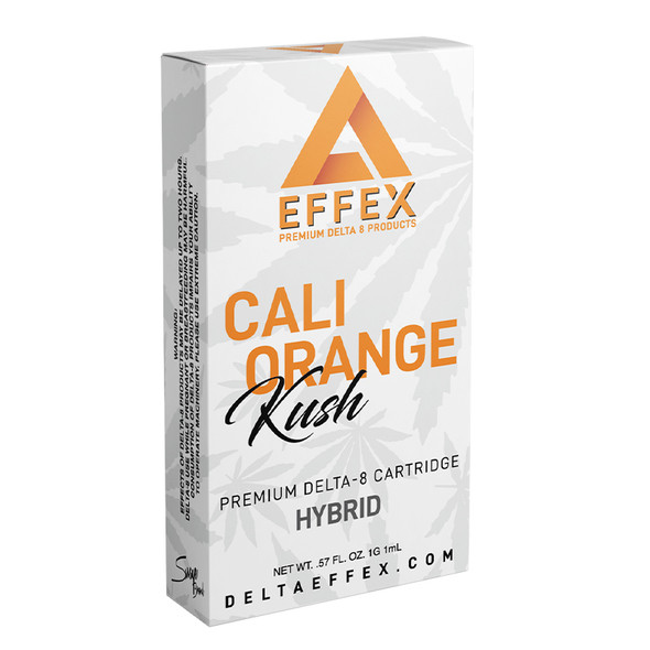 Cali Orange Kush Delta 8 Cartridge - Delta Effex 1g