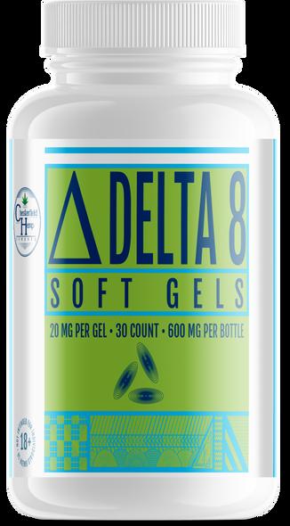 Chesterfield Hemp Co Delta 8 Liquid gels 30 Count 600mg