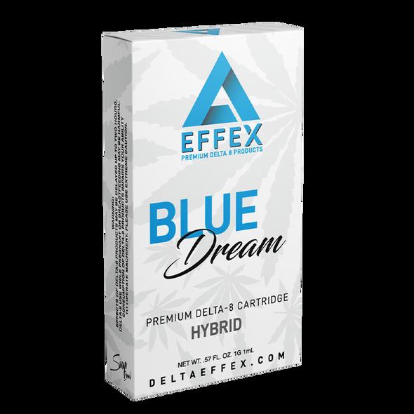Blue Dream Delta 8 Cartridge - Delta Effex 1g - Hybrid
