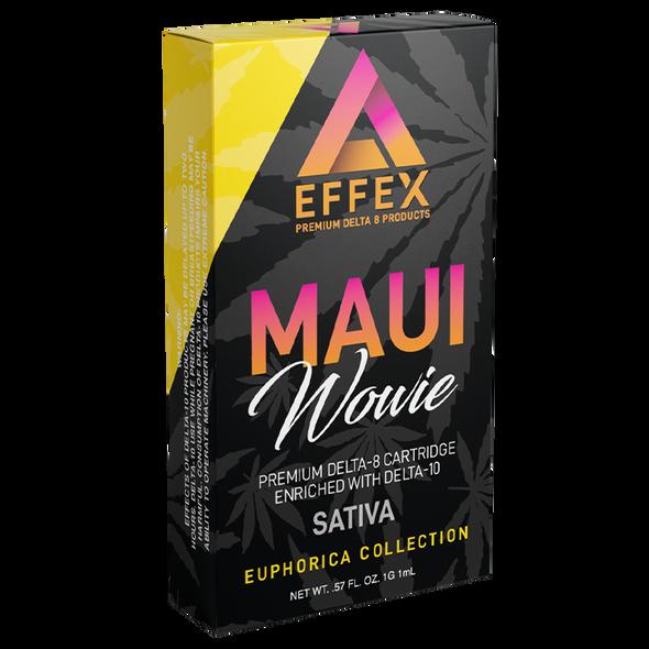 Delta Effex Delta 10 Cartridge Maui Wowie Sativa 1gram