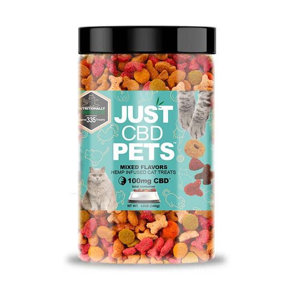 Just CBD Cat Treats - Mixed Flavors - 100mg
