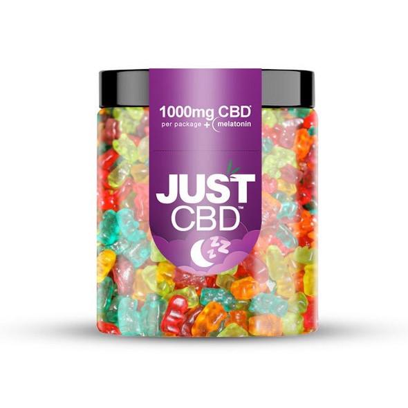 Just CBD Gummies Night Time Bears - 1000mg