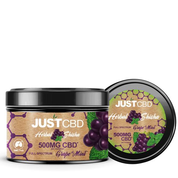 Just CBD Herbal Shisha Full Spectrum - 500mg 8oz