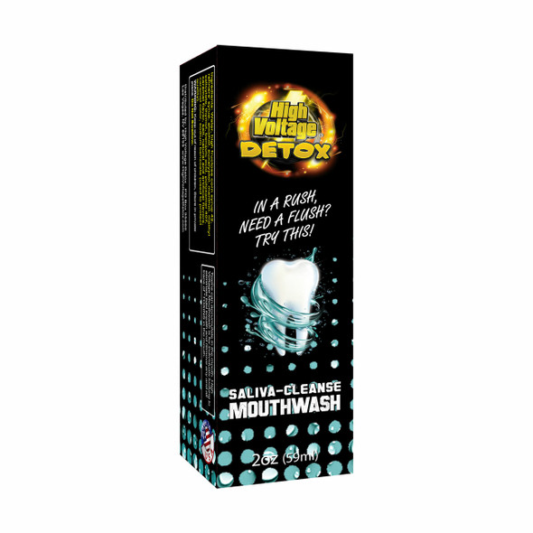 Saliva-Cleanse Mouthwash High Voltage Detox