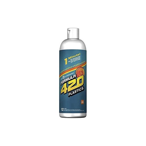 Formula 420 A4 Plastic/ Acrylic Cleaner 12fl. oz.