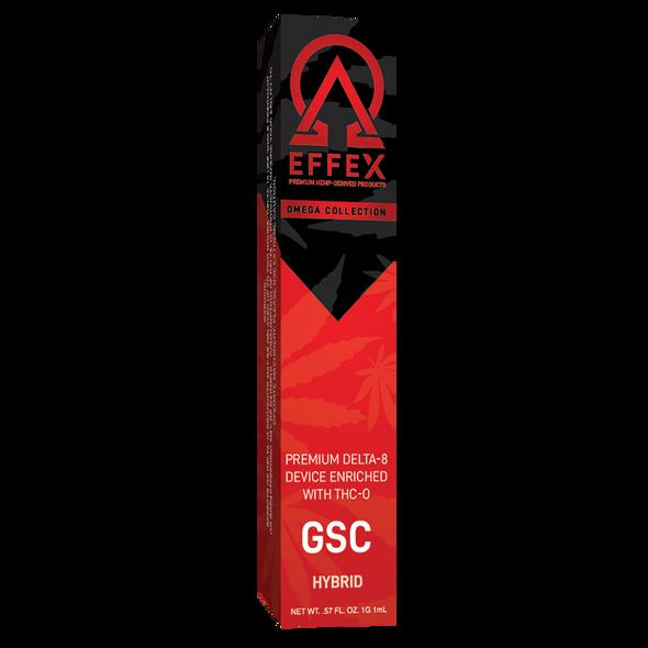 Delta Effex Omega Delta 8 THC-O Disposables