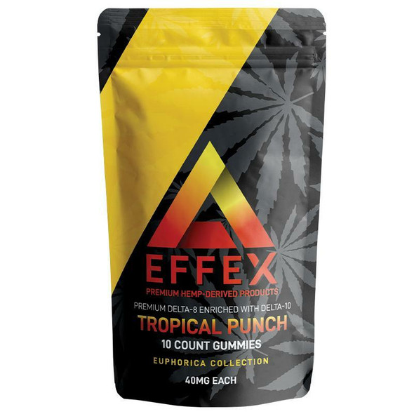 Tropical Punch Delta 10 Gummies - Delta Effex