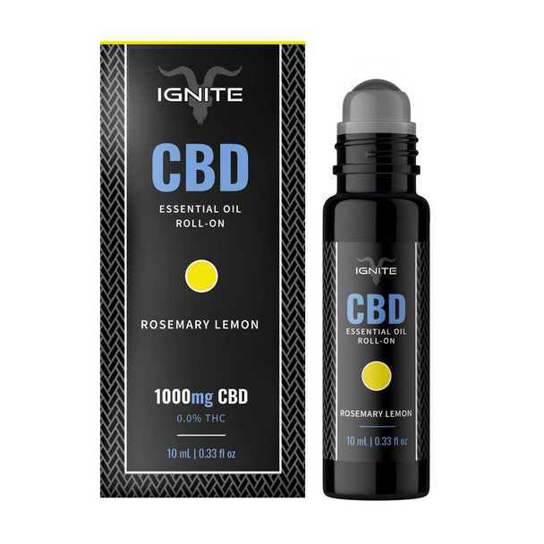 1000MG CBD Roll-On Oil - Recharge / Rosemary-Lemon
