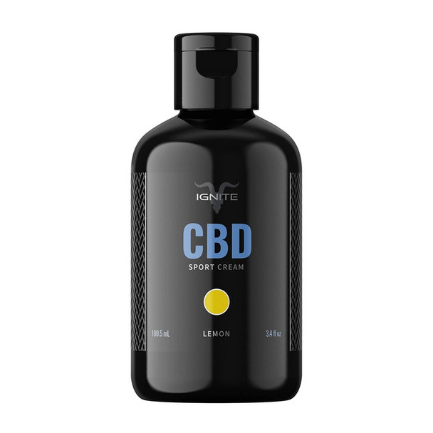 1000MG CBD Sport Cream - Lemon / Recharge