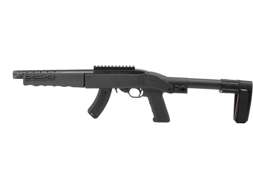 AGP Arms Lightweight Folding SB Tactical Mini Brace Kit w/ T Block - Designed for 22 Charger™ w/ .920 Bull Barrel