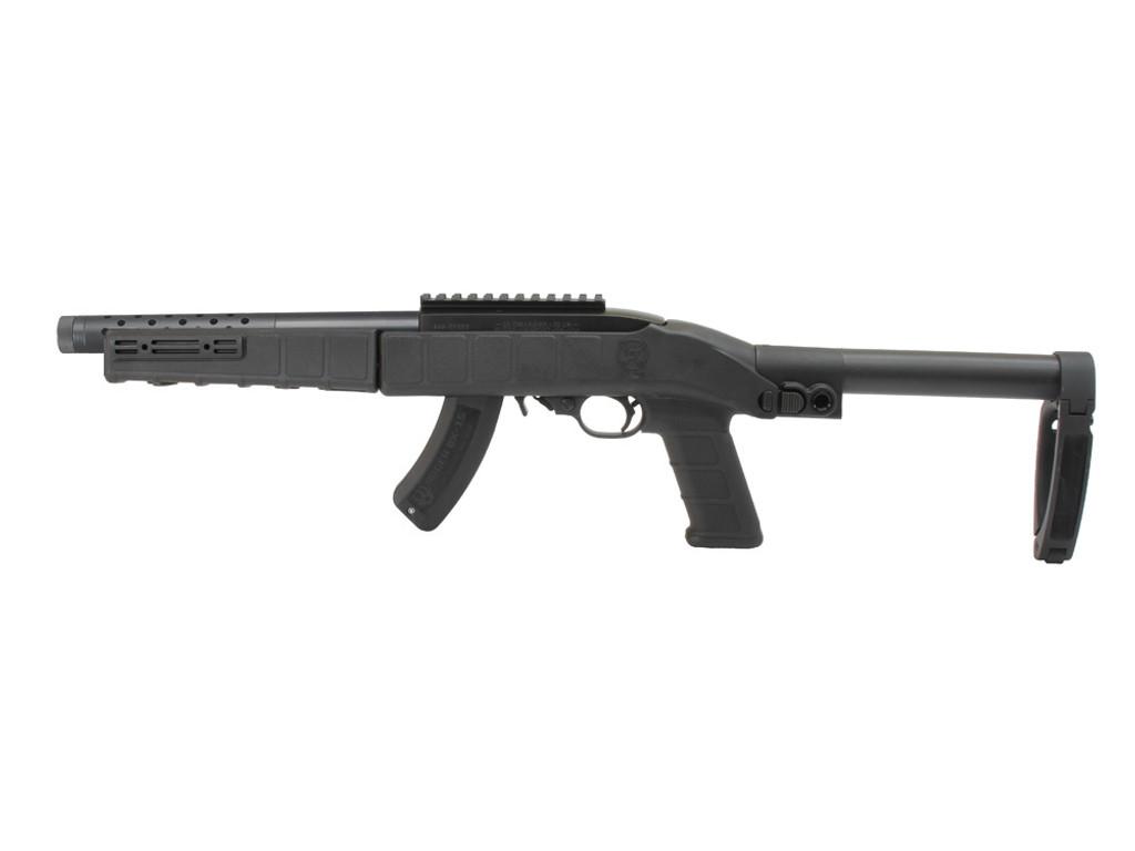 AGP Arms Lightweight Folding Tailhook Mod 1 Brace Kit w/ T Block - Designed for 22 Charger™ w/ .920 Bull Barrel