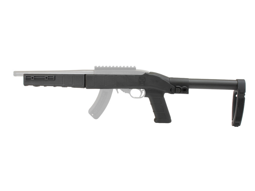 AGP Arms Lightweight Folding Tailhook Mod 1 Brace Kit w/ T Block - Designed for 22 Charger™ w/ Tapered Barrel