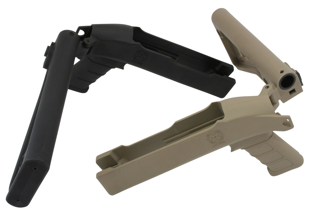 Folding Stock available Black or Dark Earth