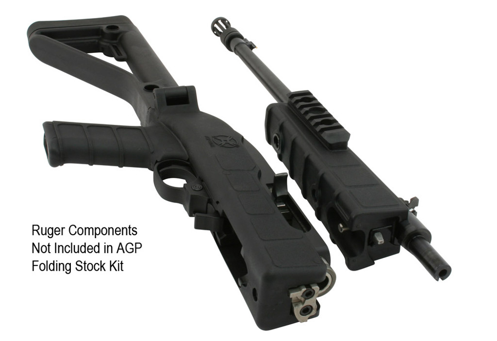 Ruger Components Not Included in AGP Folding Stock Kit