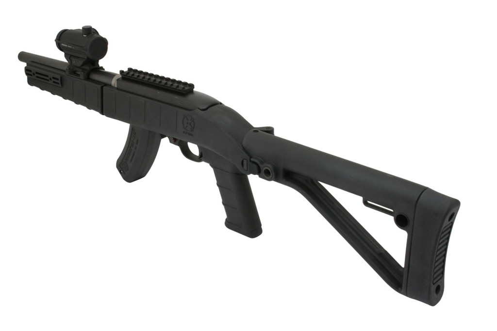 Shown with Magpul X-22 Optic Mount